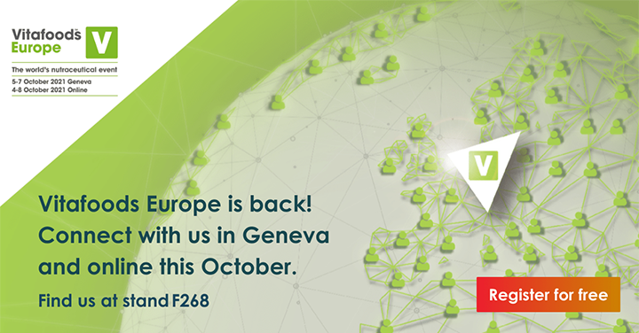 Join us: Vitafoods Europe 2021